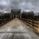 The Old Bridge of Burkett, Texas  by Terence Russell