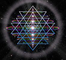 Sacred Geometry 9 by Endre