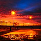 Nightcliff Jetty Sunset by Briony  Williams Photography