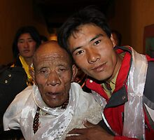 Faces of China - 9 by Susan Moss