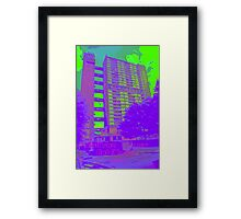 Balfron Tower, Erno Goldfinger, 1968 Framed Print