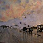 Smoke Over the Circuit Paris Railway from Luigi Loir by Jsimone