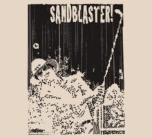 Sandblaster Stickers & Tees by Seth  Weaver
