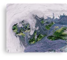 """""""Flood""""  Canvas Print"""
