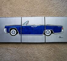 1965 Lincoln Continental Split by artbyjay