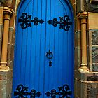 The Blue Door by Di-Trying