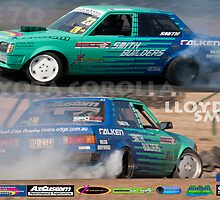 Lloyd Smith's KE70 V8 Toyota Corolla by jimeegee