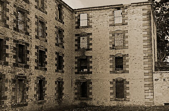 Old Gaol Port Arthur by Andrew (ark photograhy art)