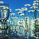 Glass with Flower by RajeevKashyap
