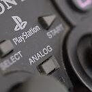 Sony Playstation controller by billlunney