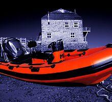 Orange Boat by Rob Hawkins