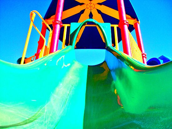 Playground Slide by Regan Hansen
