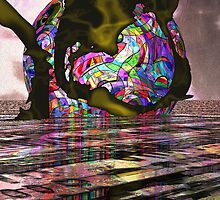 A Big  Chromesplat6  by Sazzart