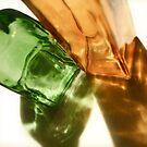 Glass Bottles by Michael  Herrfurth