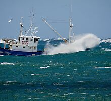 Rachel Maree  -  Fishing Trawler by Cecily McCarthy