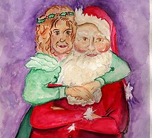 Santa and Mrs. Claus by Anne Gitto