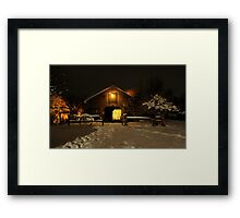 Magical  Barn Framed Print
