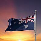 Australian Flag by Jason Scott