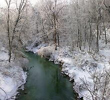 Winter Creek by LizzieMorrison