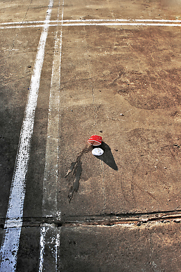 Coffee in Carpark II by Stephen Mitchell