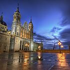 Blue Hour @ Almudena's Cathedral #3 by servalpe