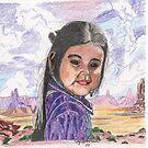 Indian Girl by artbyjay