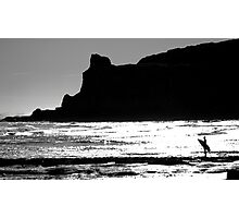 Looking back at The Cove Photographic Print