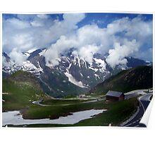 High Alpine Road. Poster