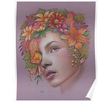 Goddess of Autumn Poster