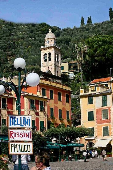 Portofino Piazza by phil decocco