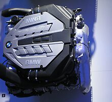 NAIAS 2008 - BMW Twin Turbo M5 Engine by nvedamuthu