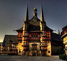 Rathaus of Wernigerode by Rob Hawkins