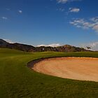 Taba Heights Golf Resort Hole 10 Par 5 by Helen Shippey