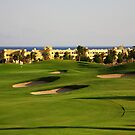 Taba Heights Golf Resort Hole 14 Par 5 by Helen Shippey