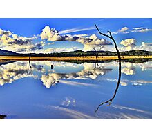 Mirror, Mirror On The Weir. Photographic Print