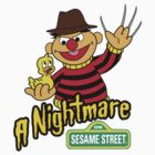 A Nightmare on Sesame Street by truetoform