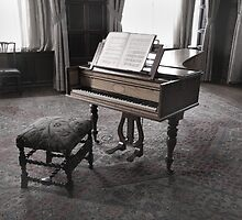 The Music Room (Hardwick Hall) by Peter  Thomas