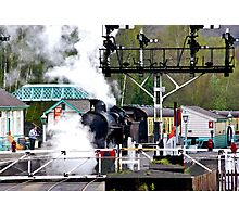 Country Rail Station Photographic Print
