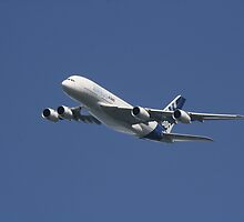 Airbus A380 by fototaker