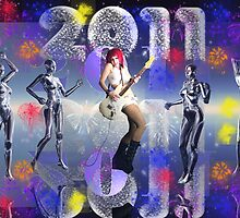 2011 Happy New Year by Tanya Newman