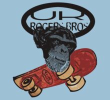 uk skaters team (monkey) by rogers bros by unitedkingdom