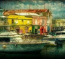 Bridgetown Harbour, Barbados by Tarrby