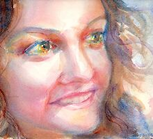A Portrait A Day 38 - Gina by Yevgenia Watts