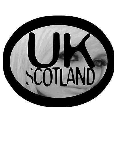 uk scotland card with stephanie by ian rogers by ukscotland