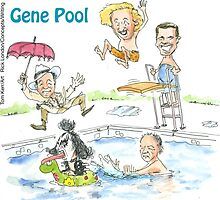 Meanwhile At The Gene Pool........... by Rick  London