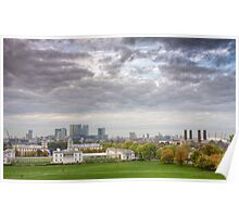 Greenwich Park London Poster