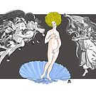 Afro-Aphrodite by Max Alessandrini