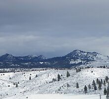 The Buttes in Winter by © Betty E Duncan ~ Blue Mountain Blessings Photography