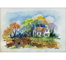 THE HOUSE OF THE FORESTER - AQUAREL Photographic Print