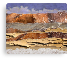 """Mountains to the Sea""  Canvas Print"